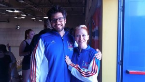 Laura & Chris Team USA
